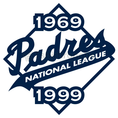 San Diego Padres T-shirts Iron On Transfers N1856