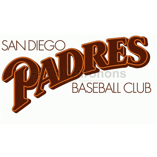 San Diego Padres T-shirts Iron On Transfers N1859