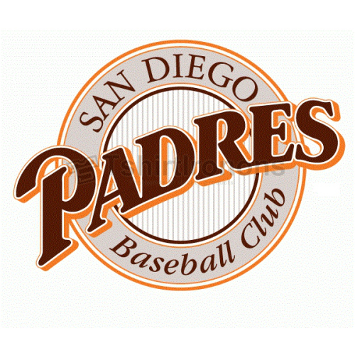 San Diego Padres T-shirts Iron On Transfers N1861