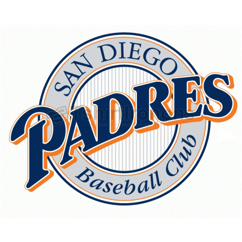 San Diego Padres T-shirts Iron On Transfers N1862