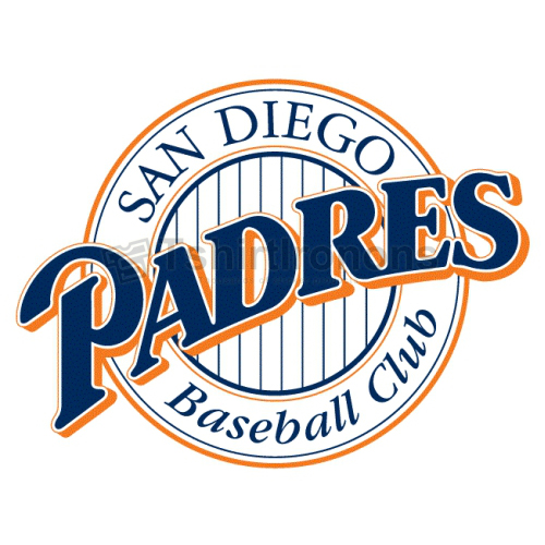 San Diego Padres T-shirts Iron On Transfers N1863