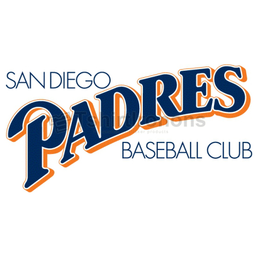 San Diego Padres T-shirts Iron On Transfers N1868