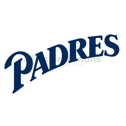 San Diego Padres T-shirts Iron On Transfers N1869