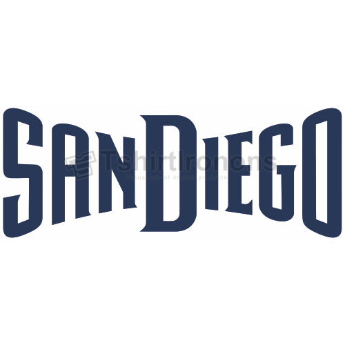San Diego Padres T-shirts Iron On Transfers N1871