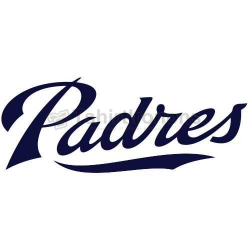 San Diego Padres T-shirts Iron On Transfers N1874