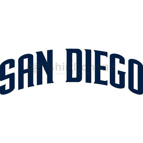 San Diego Padres T-shirts Iron On Transfers N1875