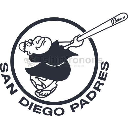 San Diego Padres T-shirts Iron On Transfers N1876