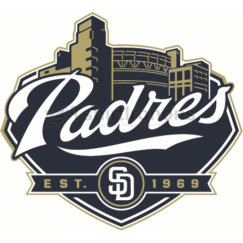 San Diego Padres T-shirts Iron On Transfers N1877