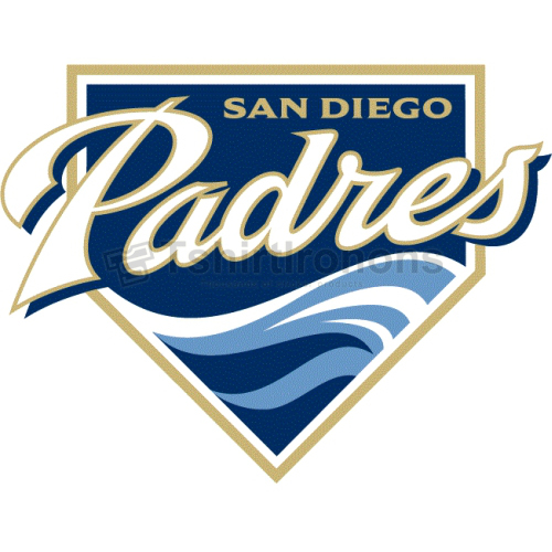 San Diego Padres T-shirts Iron On Transfers N1879