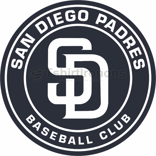San Diego Padres T-shirts Iron On Transfers N1880