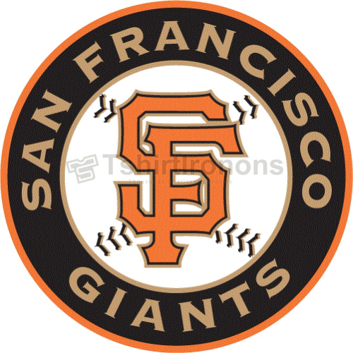 San Francisco Giants T-shirts Iron On Transfers N1881