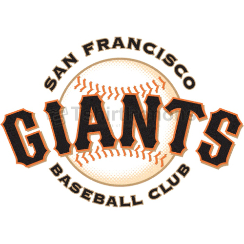 San Francisco Giants T-shirts Iron On Transfers N1882