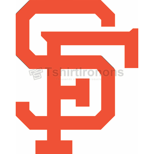 San Francisco Giants T-shirts Iron On Transfers N1883