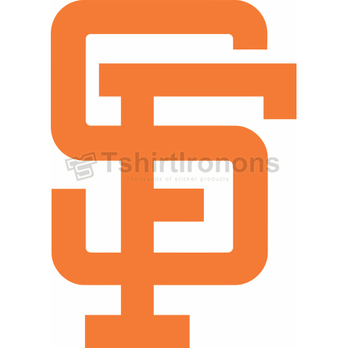 San Francisco Giants T-shirts Iron On Transfers N1884