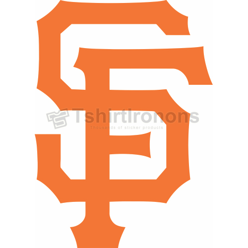 San Francisco Giants T-shirts Iron On Transfers N1885