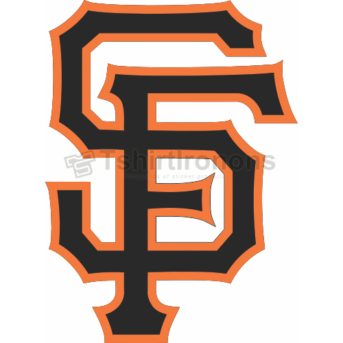San Francisco Giants T-shirts Iron On Transfers N1886