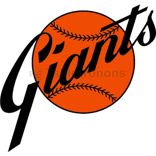 San Francisco Giants T-shirts Iron On Transfers N1890