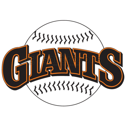 San Francisco Giants T-shirts Iron On Transfers N1891