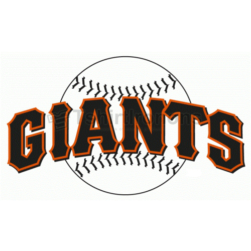 San Francisco Giants T-shirts Iron On Transfers N1892