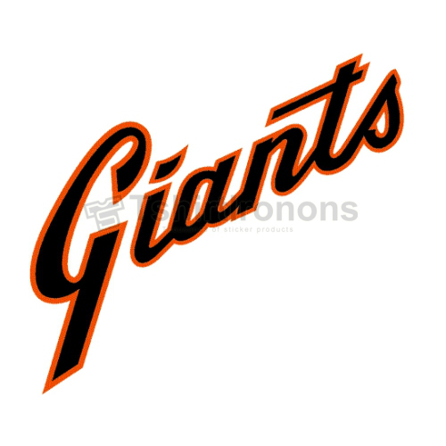 San Francisco Giants T-shirts Iron On Transfers N1893