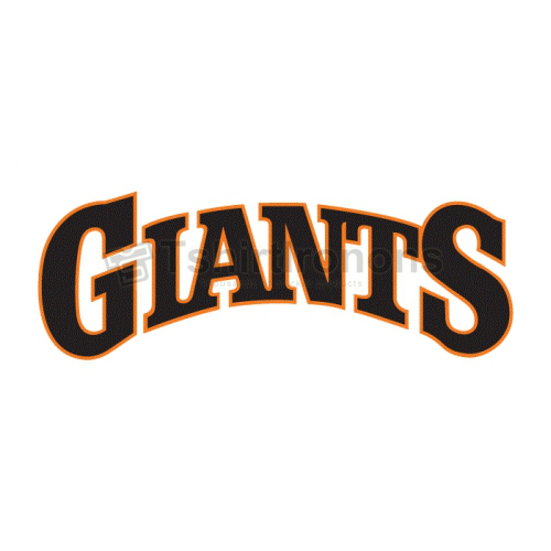 San Francisco Giants T-shirts Iron On Transfers N1895