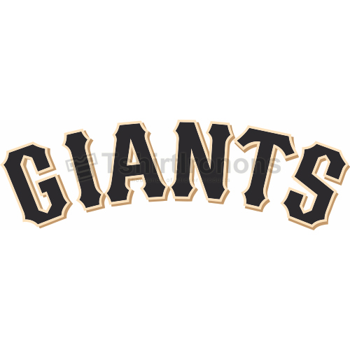 San Francisco Giants T-shirts Iron On Transfers N1903