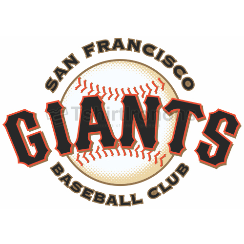 San Francisco Giants T-shirts Iron On Transfers N1906