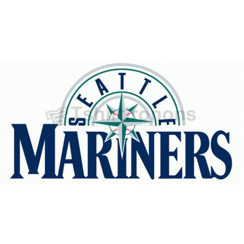 Seattle Mariners T-shirts Iron On Transfers N1907