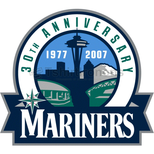 Seattle Mariners T-shirts Iron On Transfers N1914