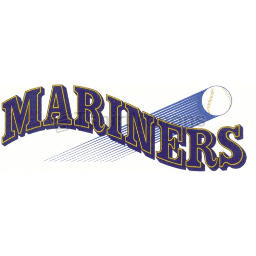 Seattle Mariners T-shirts Iron On Transfers N1915