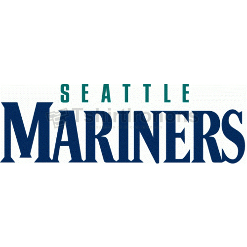 Seattle Mariners T-shirts Iron On Transfers N1916