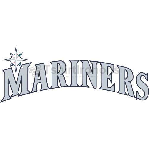 Seattle Mariners T-shirts Iron On Transfers N1920