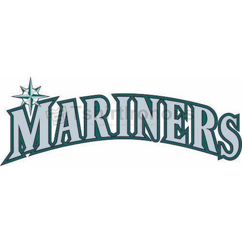 Seattle Mariners T-shirts Iron On Transfers N1921