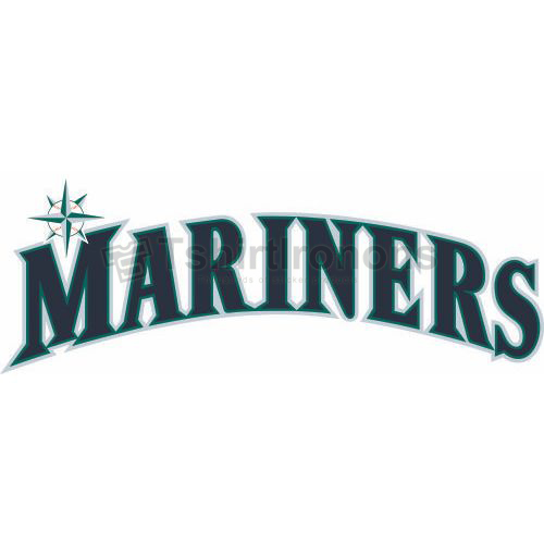 Seattle Mariners T-shirts Iron On Transfers N1923