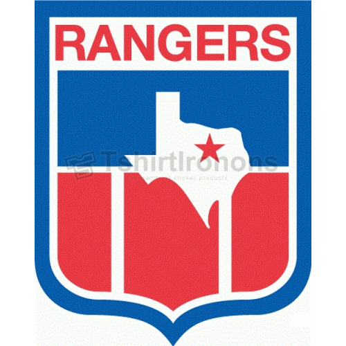 Texas Rangers T-shirts Iron On Transfers N1960