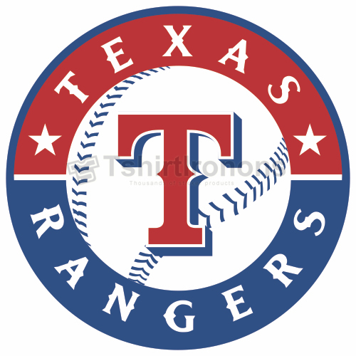 Texas Rangers T-shirts Iron On Transfers N1980