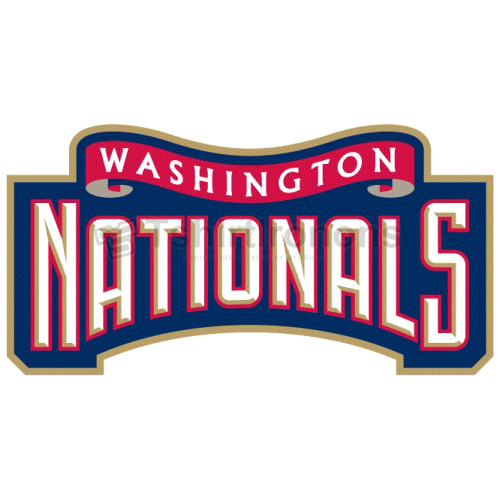 Washington Nationals T-shirts Iron On Transfers N2008