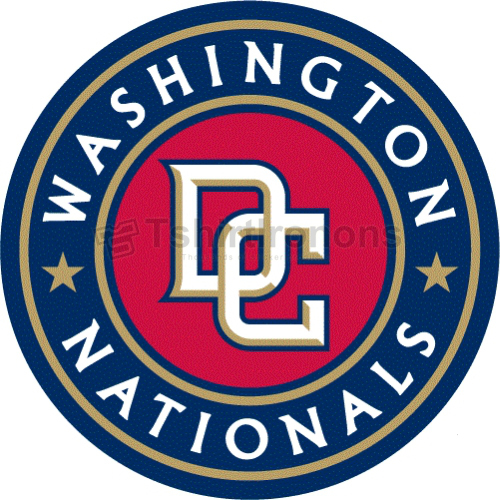Washington Nationals T-shirts Iron On Transfers N2009