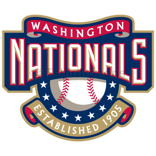 Washington Nationals T-shirts Iron On Transfers N2010