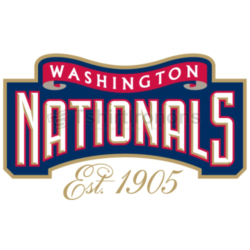 Washington Nationals T-shirts Iron On Transfers N2012