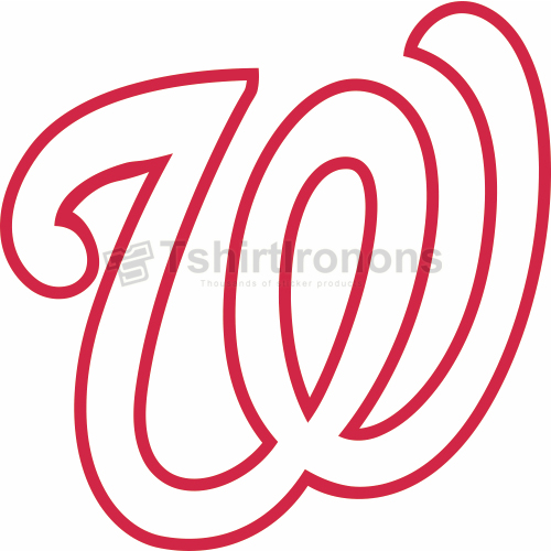 Washington Nationals T-shirts Iron On Transfers N2015