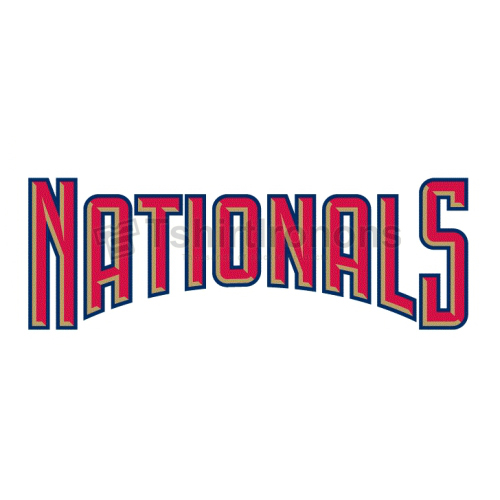 Washington Nationals T-shirts Iron On Transfers N2021
