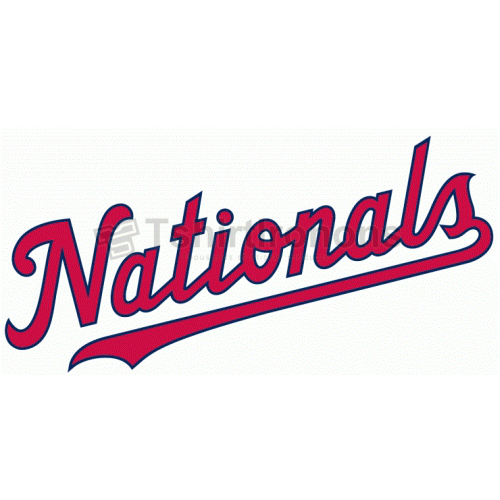 Washington Nationals T-shirts Iron On Transfers N2025