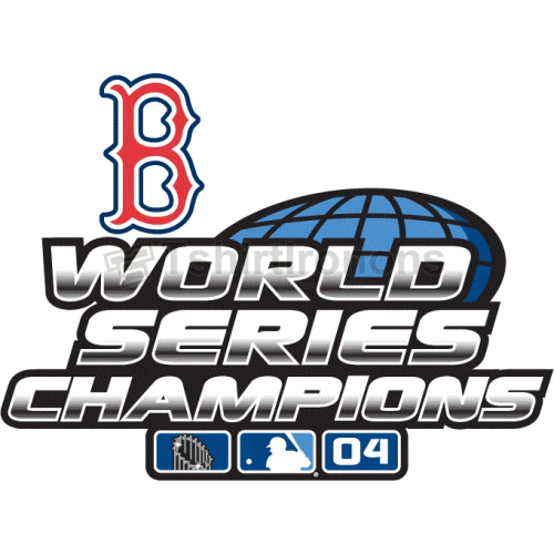 World Series Champions T-shirts Iron On Transfers N2034