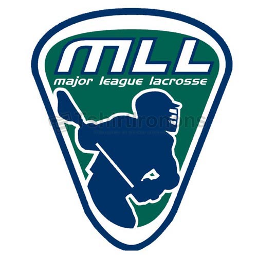 Major League Lacrosse T-shirts Iron On Transfers N2093