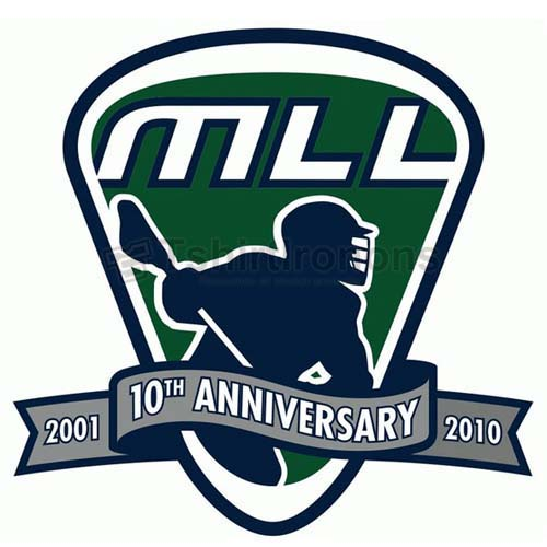 Major League Lacrosse T-shirts Iron On Transfers N2094