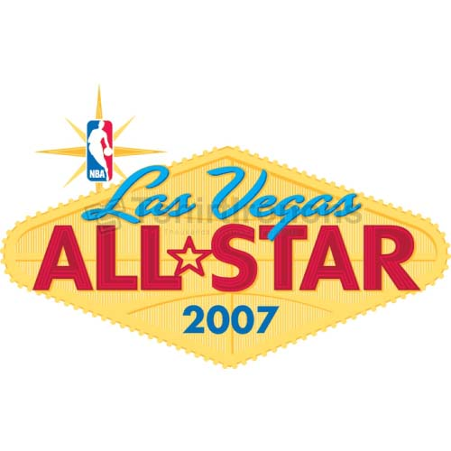 NBA All Star Game T-shirts Iron On Transfers N860