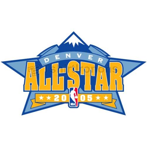 NBA All Star Game T-shirts Iron On Transfers N862