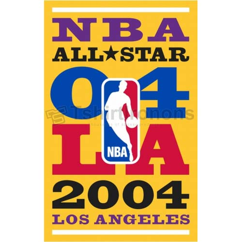 NBA All Star Game T-shirts Iron On Transfers N863