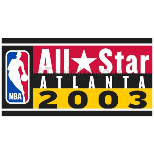 NBA All Star Game T-shirts Iron On Transfers N864